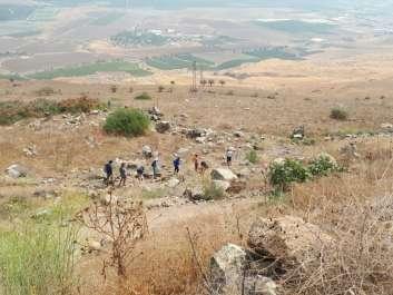 גן לאומי כוכב הירדן הסדרת שביל תלמידי תלמה ילין צילם חגי עוז