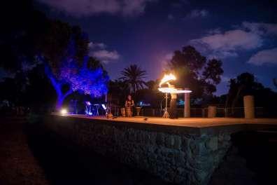 פעילות ערב בגן לאומי אשקלון