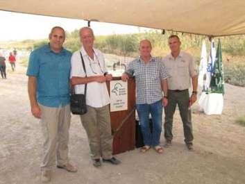 השותפים לפרויקט (מימין לשמאל) – שאול גולדשטיין מנכ