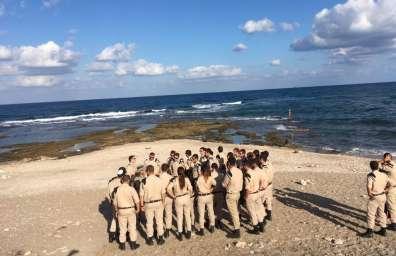 קורס קצין שומר טבע לצוערי קורס חובלים בשמורת ים שקמונה JPG