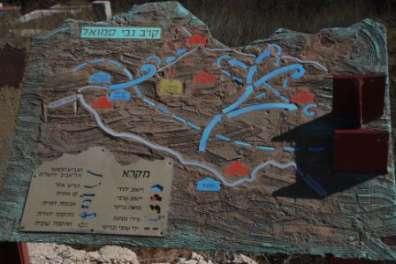מפת קרב נבי סמואל