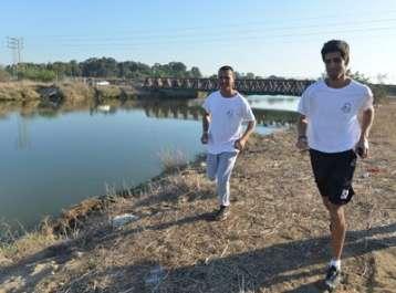 עובדי רשות הטבע והגנים השתתפו במירוץ למען הסביבה והחי