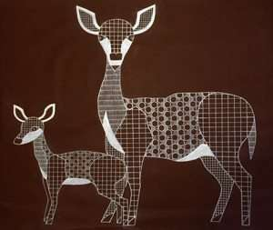 תמונה מהתערוכה מגדירים מחדש את מגדירי החי והצומח מאת רונית שלם