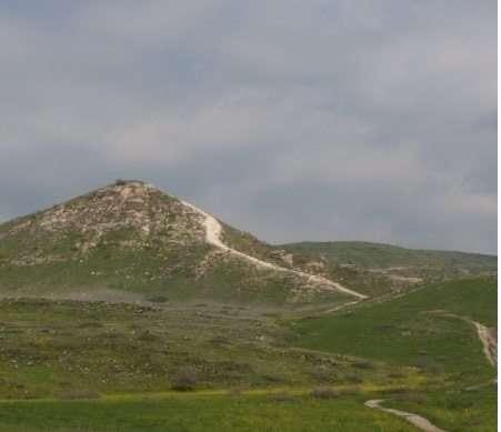 תמונת האזור ממצפה אופיר לעין גב