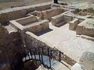 המקדש היהודאי בתל ערד תקופת בית ראשון-צילמה אורית בורטניק