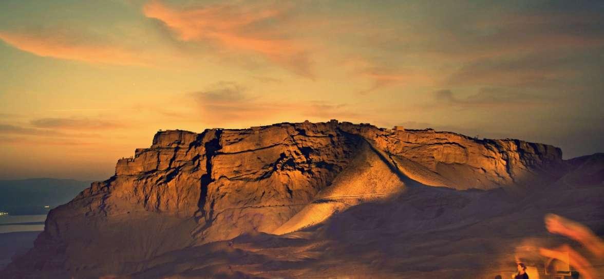הר מצדה - צילום אבינועם מיכאל