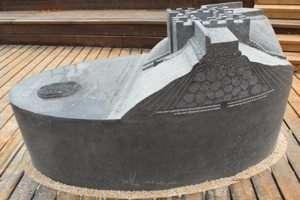 מודל השער הכנעני בשמורת טבע תל דן - צילם עופר קוטלר