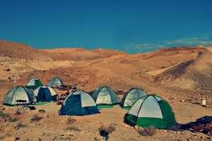 אוהלים - לינת שטח בדרום הארץ