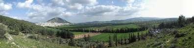 פנורמה הר תבור צילם מוחמד מסאלחה - אבו רמזי