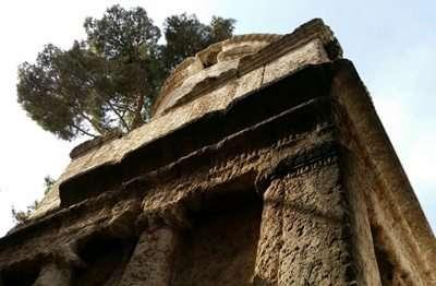 ונדליזם בקבר יהושפט - יד אבשלום
