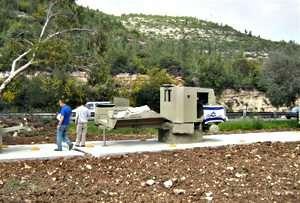 משוריין בדרך אל העיר ירושלים