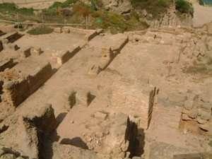 שרידי הווילה הרומית באפולוניה