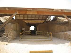שער הלבנים הכנעני באשקלון