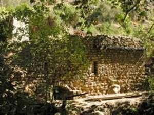 טחנת קמח עתיקה בשמורת טבע נחל עמוד