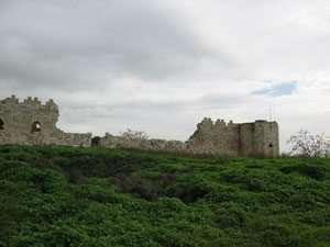 המבצר העותומני בגן לאומי ירקון