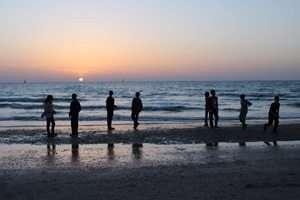 צופי ים צילמה עדי ויינברגר, מדריכת