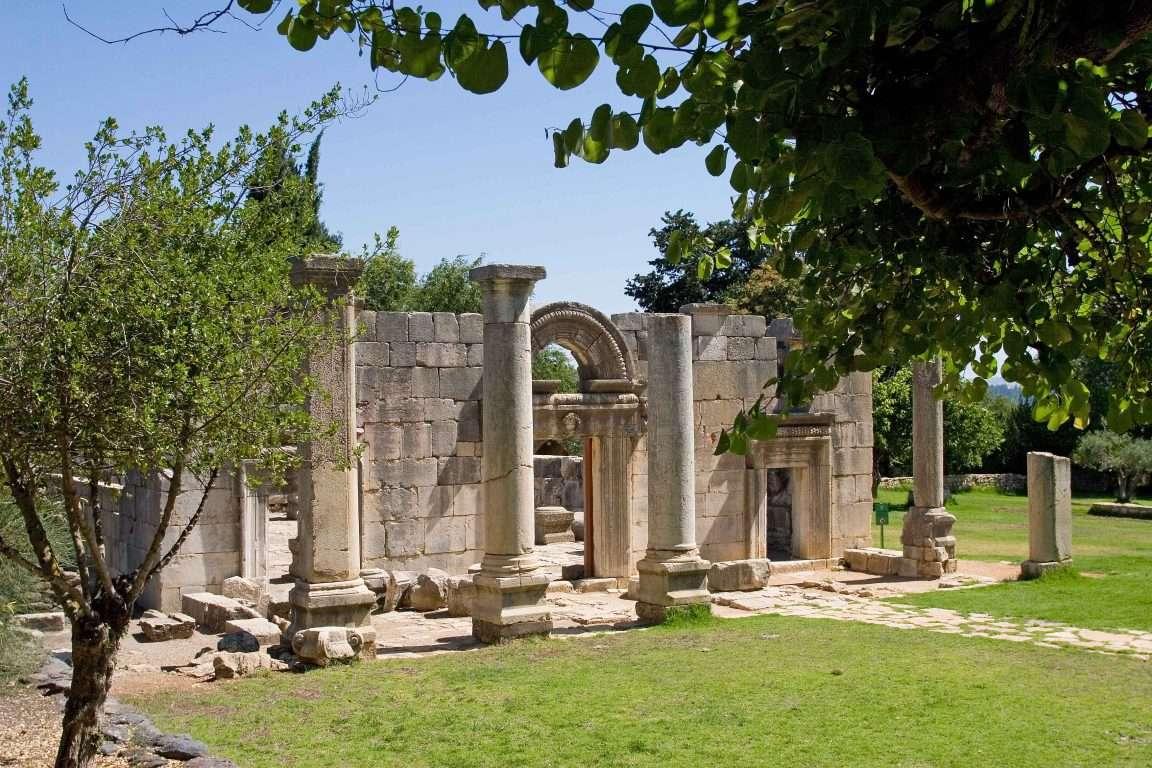 בית הכנסת העתיק בגן לאומי ברעם