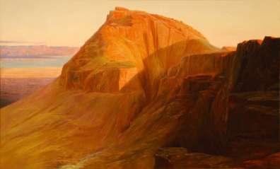 Masada by Edward Lear 1858