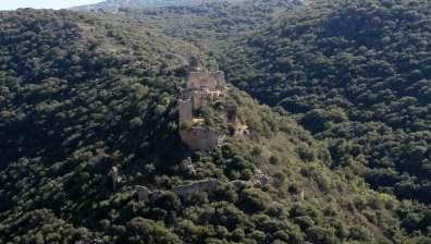 ממצפה מונפור למבצר מונפור. צילום: יעקב שקולניק