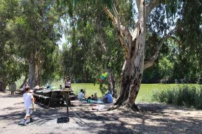 חניון חורבת סמארה בנחל אלכסנדר. צילום: יעקב שקולניק