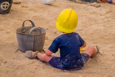 סדנת חפירה בציפורי, צילום: רחל אשכול