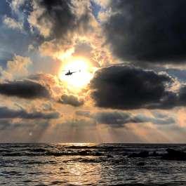 ים בשקיעה צילמה סיגל קצף
