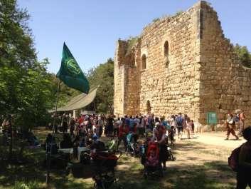 המצודה בגן לאומי עין חמד