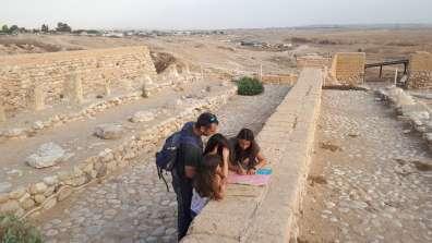 משחק בריחה 'קוד העתיקות' בגן לאומי תל באר שבע