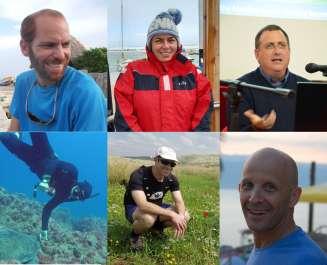 אנשי מפתח בסביבה הימית