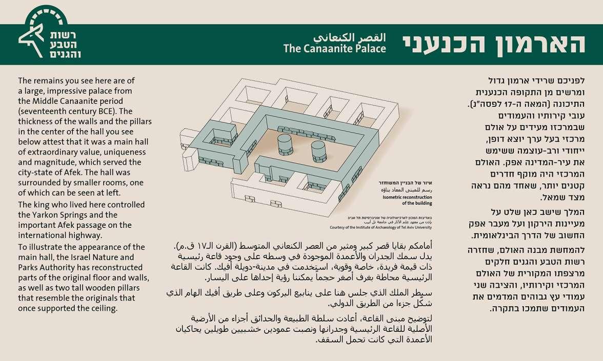 הארמון הכנעני בתל אפק
