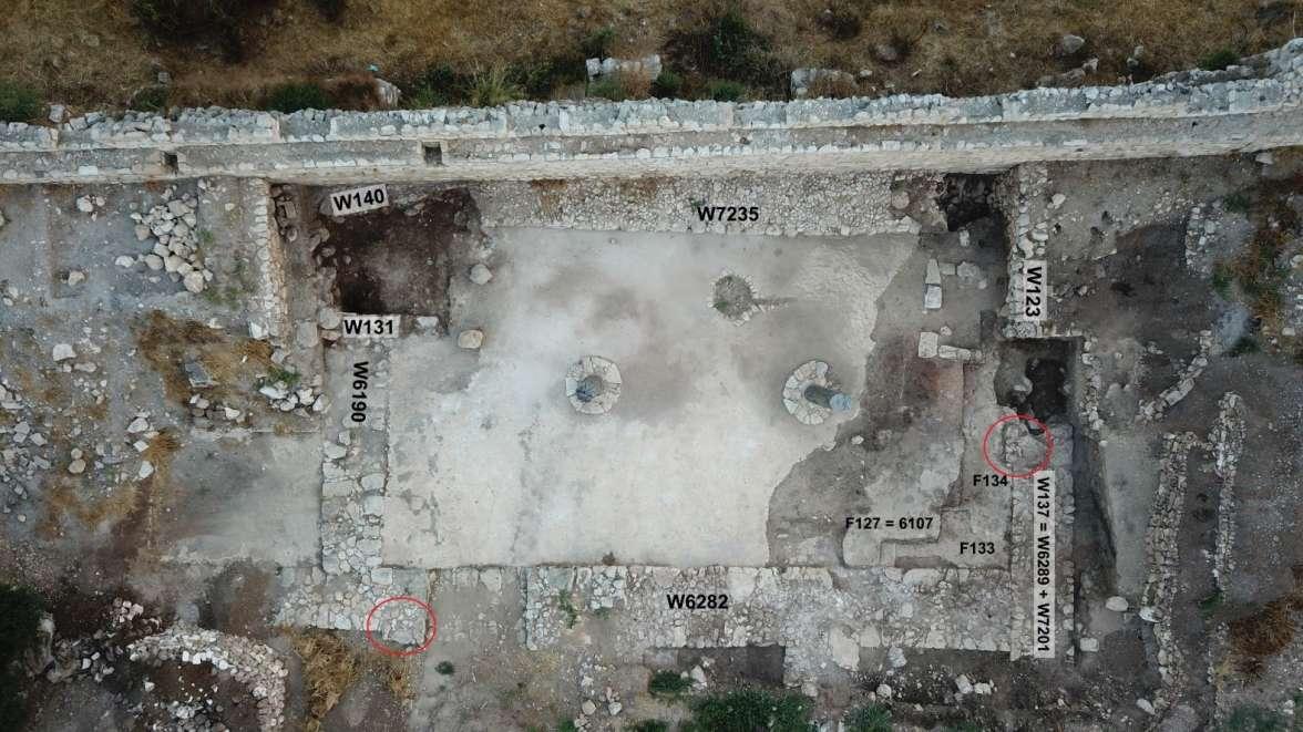 חפירות תל אפק - איור 1