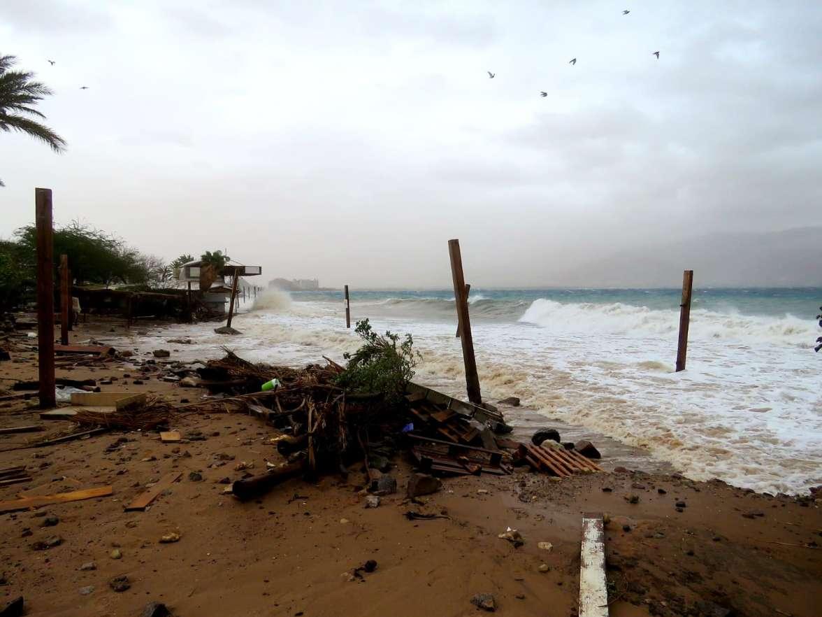 סערה בצפון מפרץ אילת-אסף זבולוני1