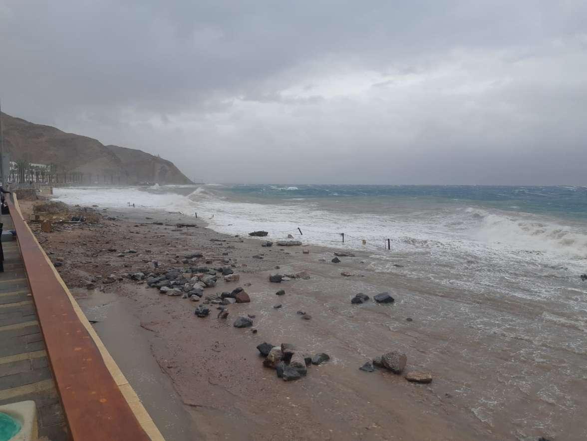 סערה בצפון מפרץ אילת-אסף זבולוני2