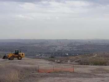 תל גזר - מקדש המצבות מנקודת התצפית. צילם חגי יוחנן