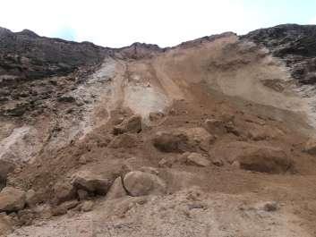 התמוטטות מצוק הכורכר בחוף השרון - אוהד מאס