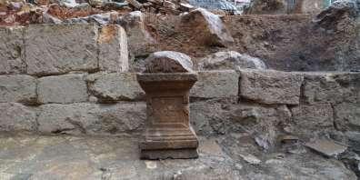 מזבח בניאס - צילום יהונתן אורלין רשות