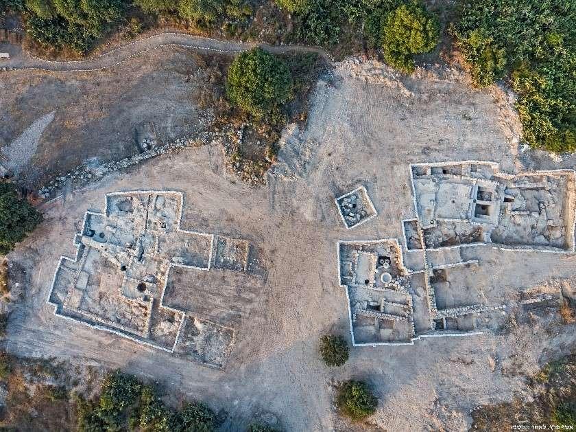 איור 1- אושה העתיקה מבט על, צילום אסף פרץ רשות העתיקות