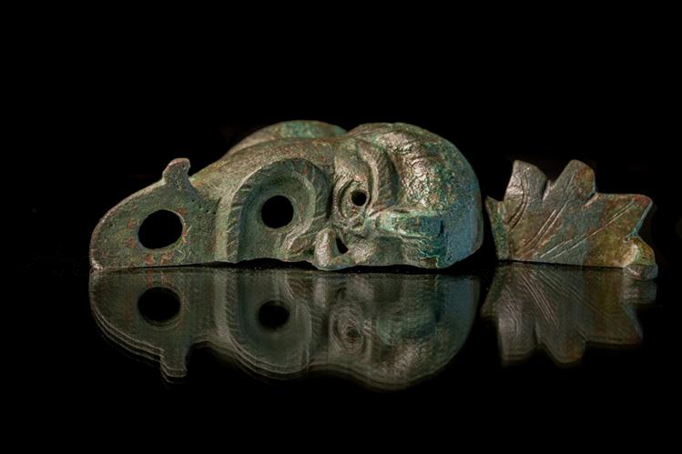 נר שמן עשוי ברונזה - קובי הראתי, עיר דוד