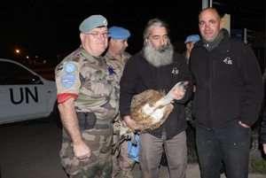 נשר ישראלי הוחזר מלבנון - צילום מוטי דולב