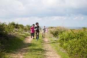 שביל האטד בגן לאומי חוף פלמחים