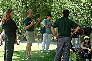 גדי בתר - מדריך מתנדב בפרוייקט גן קהילה של רשות הטבע והגנים