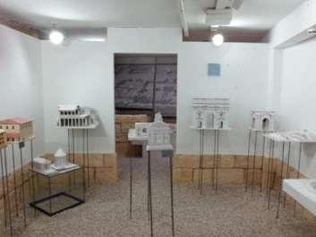 תערוכה במוזיאון לארכיאולוגיה- עקבות בעמק בגן השלושה - מהמחצבה אל המקדש - צילם דרור סגל