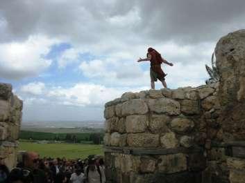 המחזה בגן לאומי תל מגידו - צילמה רינת רוסו