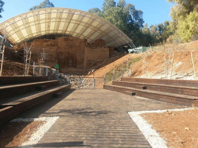 השער הכנעני בתל דן צילם טל ליוגנקי