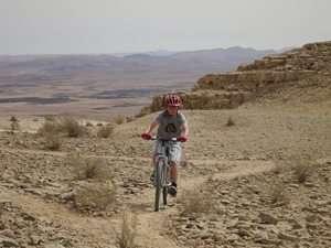 מסלול אופניים מצפה רמון - בארות - צילם הילל זוסמן