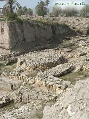 במת המקדש העגולה במתחם המקדשים במגידו
