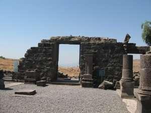 בית הכנסת פונה לכיוון דרום