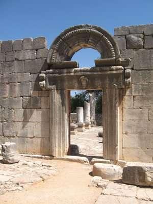 חזית בית הכנסת בברעם