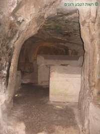 חדר קבורה במערת הארונות