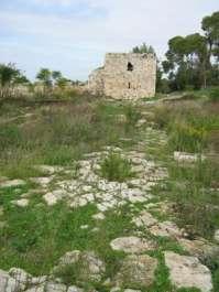 מגדל המבצר העותומני הבנוי על רחוב רומי